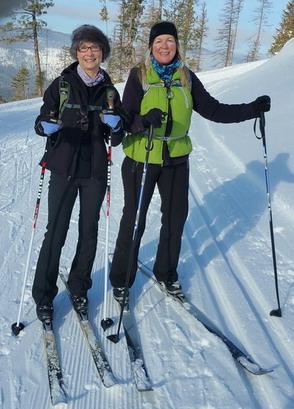 Nordic Skiing Blacktail
