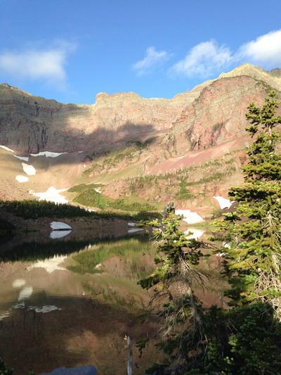 Otokomi Lake Glacier