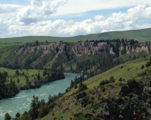 Flathead River Polson