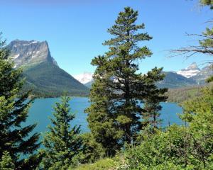 St. Mary Lake Glacier