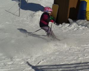 Skiing near Billings