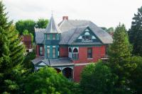 Lehrkind Mansion Bed and Breakfast in Bozeman, MT. Summer photo