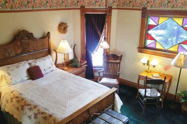 Muir Bedroom, Lehrkind Mansion Bed and Breakfast, Bozeman, MT