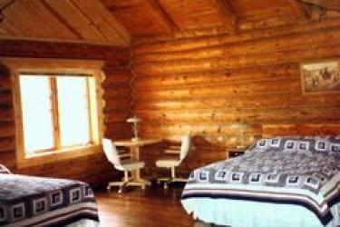 Montana style lodging